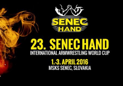 23rd Senec hand International Armwrestling World Cup