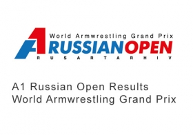A1 Russian Open Results World Armwrestling Grand Prix